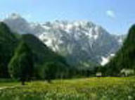 The Logarska dolina valley, Solčava