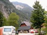 Camping Trenta - source of the Soča river, Soča