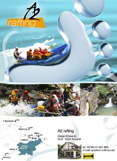 A2 Rafting, Kobarid