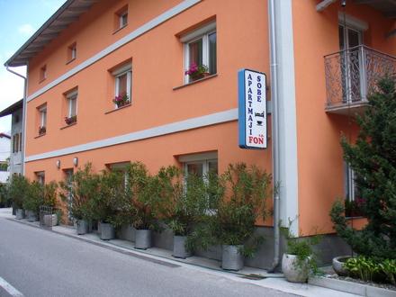 Fon apartments Trnovo ob Soči, Kobarid