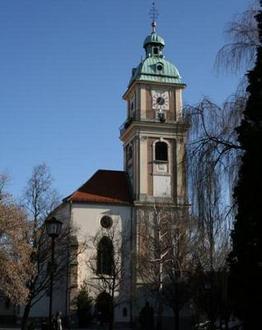 Cerkev sv. Janeza Krstnika , Maribor in Pohorje z okolico