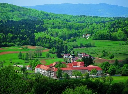 The Cistercian monastery , Dolenjska and Bela Krajina