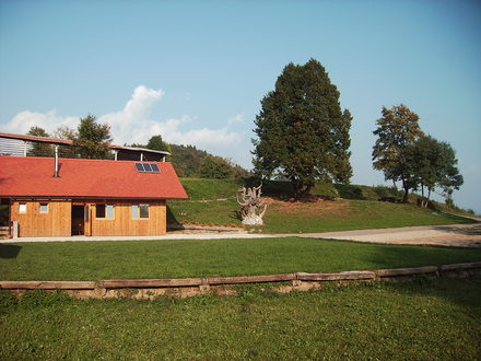 Lo spazio per il picnic Strmca, Alpi Giulie