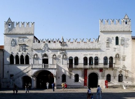 The Praetorian palace in Koper, Coast