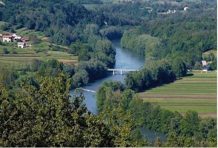 Il fiume Kolpa, Bela krajina