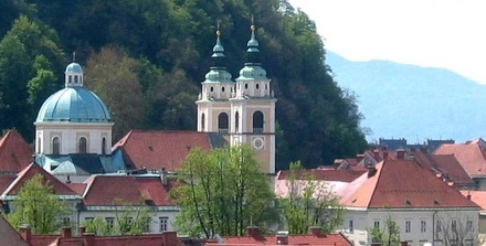 The Cathedral of St. Nicholas, Ljubljana and its Surroundings