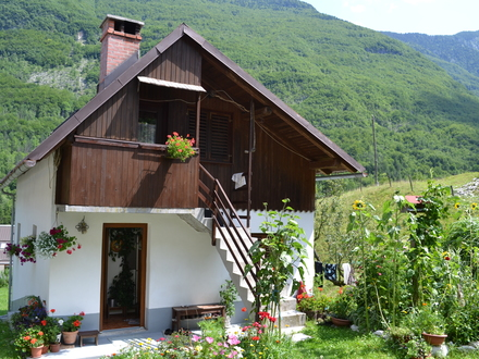 Jožica Pretner apartment, Soča Valley