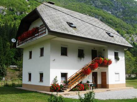 Apartment Pod Rožem, Soča Valley