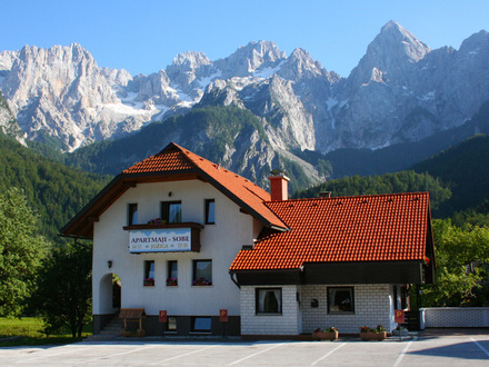 Apartment und Zimmer Jožica, Die Julischen Alpe