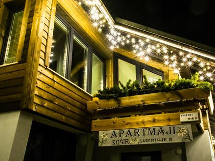 Appartamenti Košir, Alpi Giulie