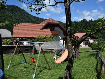 Touristischer Bauernhof  pri Boštjanovcu, Die Julischen Alpe