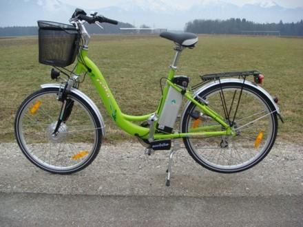 Bicicletta elettrica VIA VERDE, Alpi Giulie