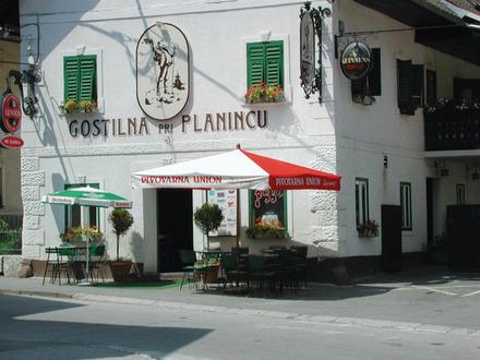 Gostilna in pizzerija Pri planincu, Bled