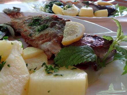 Restaurant Mlin, Julian Alps