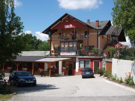 Gasthaus mit unterkünften Danica, Maribor und das Pohorjegebirge mit Umgebung