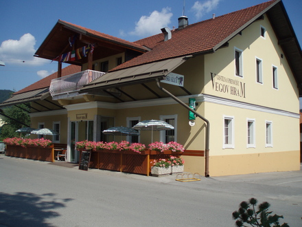Vegov hram inn, Ljubljana and its Surroundings