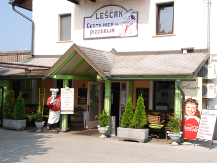Restaurant and pizzeria Leščan, Julian Alps