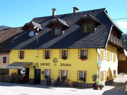 Gasthof pri Žerjavu - Zimmer, Die Julischen Alpe