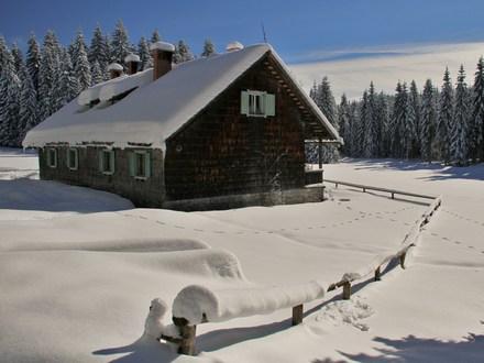 Waldhütte Rovtrica, Die Julischen Alpe