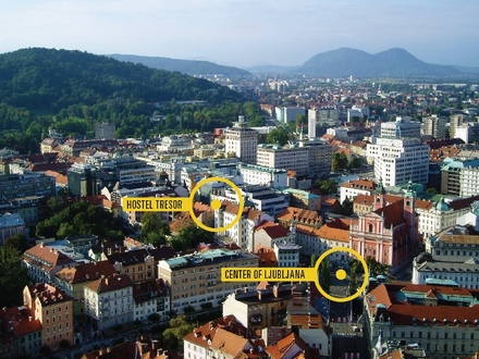 Hostel Tresor, Ljubljana and its Surroundings