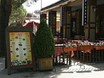 Italijanska restavracija Paco 1, Obala