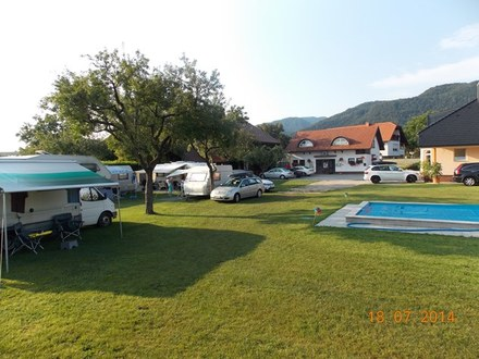 Camping place Dolina, Prebold
