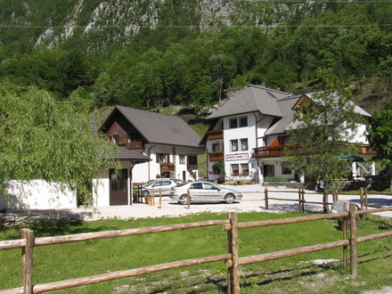 Campeggio Klin Lepena, Valle dell' Isonzo