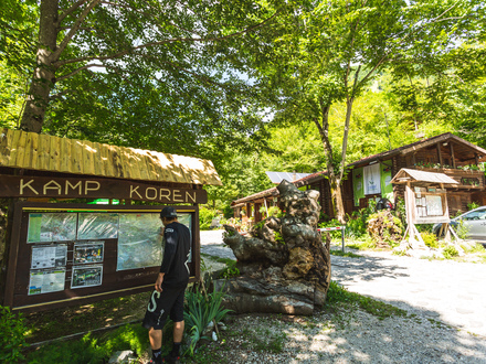 Camping place Koren Kobarid, Kobarid