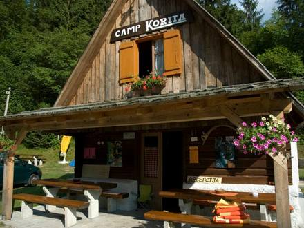 Camp Korita Soča , Soča Valley