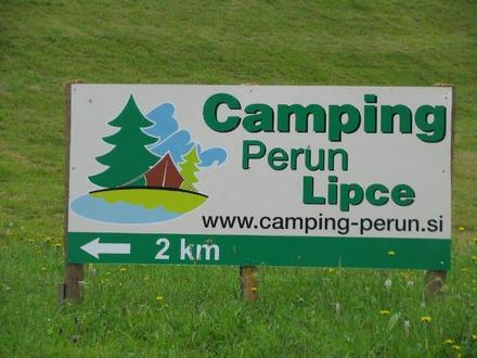 Camp Perun Lipce, Julian Alps
