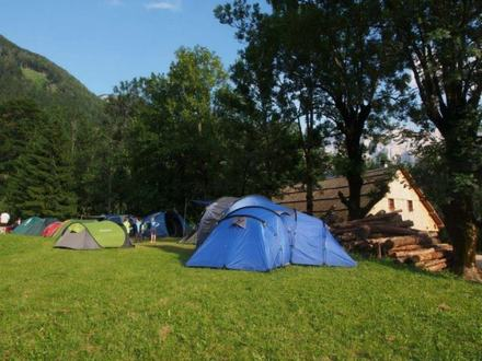 Camping Šenk's homestead, Julian Alps