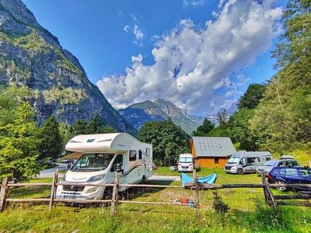 Camping place Triglav, Soča Valley