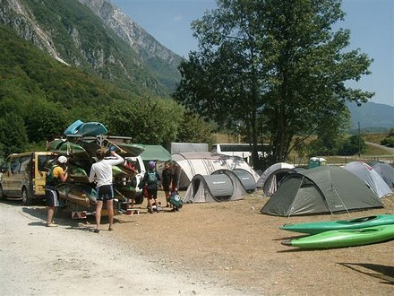 Camp Trnovo, Kobarid