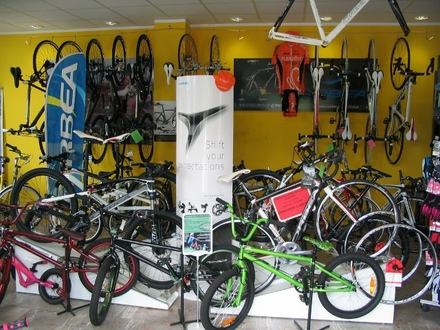 Bicycle sales and service center Orbea , Ljubljana and its Surroundings