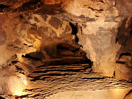 The karst cave of Kostanjevica, Dolenjska