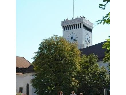 Ljubljanski grad, Ljubljana z okolico