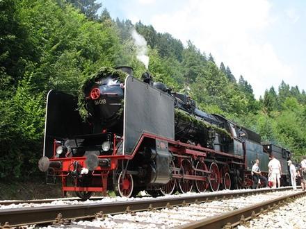 Treno storico Jesenice - Bled - Bohinj - Kanal - Nova Gorica, Bled