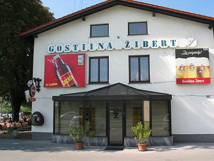 Restaurant Park and accommodation Žibert, Ljubljana and its Surroundings