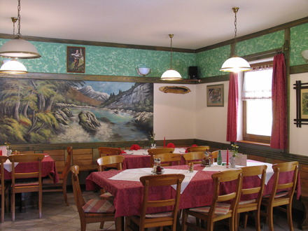 Lepena restaurant, Soča Valley