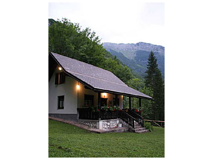 Glijun vacation house, Bovec