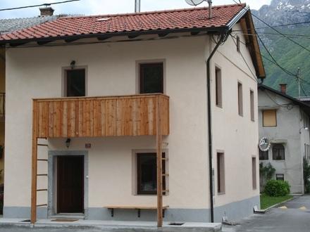 Chalet Polovnik house, Bovec