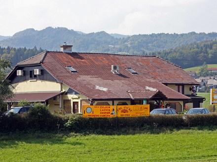 Camere pri Ančki, Ljubljana e dintorni