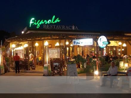 Restavracija Figarola, Obala