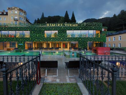 Rimske terme hotel Rimski dvor, Laško
