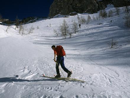 Arampicata e scuola da sci  Alpe, Alpi Giulie