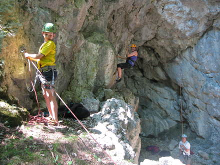 Skiing and climbing school Alpe Bohinj, Julian Alps