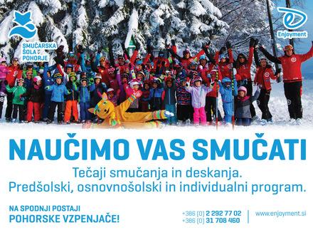 Smučarska šola Visit Pohorje, Maribor in Pohorje z okolico