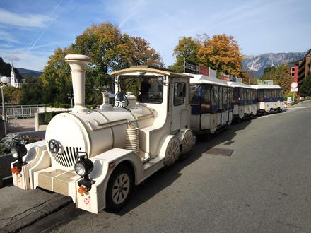 Turistični vlakec Bled in Izola, Bled