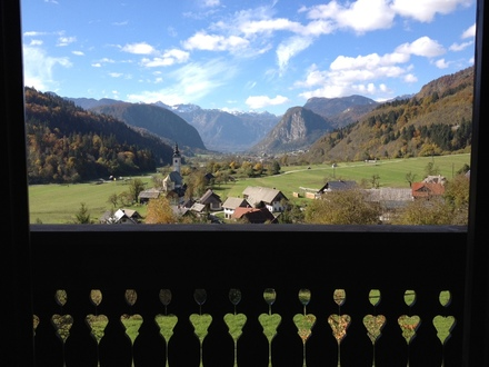 Villa Bohinca, Alpi Giulie