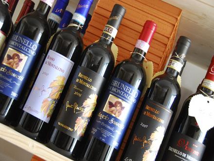 Vino – Weingeschäft mit slowenischen und italienischen Weinen, Bled